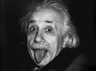 einstein tongue